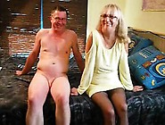 Mature Bisexuals Having A Threesome