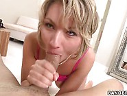 Beautiful Blonde Milf Will Get A Meat Relaxation For Her Jaw