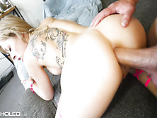 Alluring Young Babe With Hot Ass Gets Pounded On Sofa