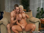 Classy Golden-Haired Experienced Woman Claudia Marie Receiveing