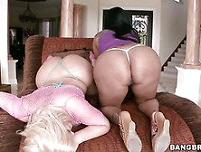 Big Round Asses Of The Lustiest Julie Cash And Kiara Mia