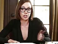 Lesbian Chick Jenna Sativa Seduces April For A Fuck