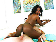 Black Horny Filth Rides Long Dick Of White Handsome Guy With Pas