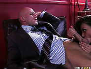 Allie Haze Loved To Suck His Massive Cock And Get Her Pussy Eate