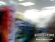 Midget Walking Naked In Supermarket