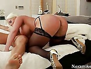 Big Titted,  Blonde Woman Likes To Have Sex With Her Husband,  Bec