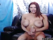 Redhead Pornstar Kylee Nash With Big Fake Tits