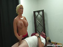 Instead Of Sex The Guy Will Jerk Off The Penis Very Hard And Str