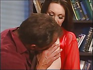 Cute Young Milf With High Heels On Sucks A Big Cock Before Getti
