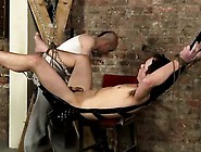 Emo Bondage Erotic Gay Face Fucked With A Cummy Cock
