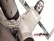 Maria Devine Ass Smashed By 3 Black Monster Cocks (Only Anal Fuc