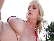 Mature Milf Monik Outdoor - Trendy Granny