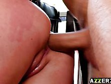 Gorgeous Angela White Twerks And Fucks In The Ass