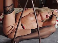 Horny Blondie Prinzzess Fingers Her Horny Cunt