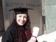 Kerry Raven Celebrates Graduating By Fucking