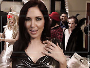 Amber Rayne Gets Her Mouth Fucked Literally To Death By Hot Man