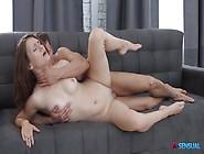 Seductive Redhead Big Ass Babe Shona River Rides Meaty Cock Of M