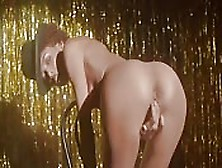 Celebrity Stripper Performs On Stage