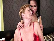Teen Seduces Granny Lesbian In Lusty Porn