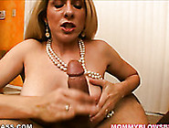 Horny Blonde Milfie Angela Attison Treats Her Boy With Terrific