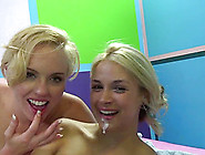 Sarah Vandella And Miley May Are Two Blonde 18 Teen Beauties Who