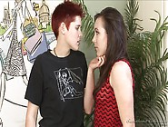 Teen Lesbian Makes Out Like Crazy With A Horny Girl