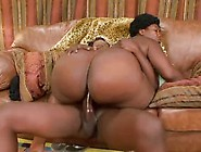 An Ebony Beauty Will Be Smashed Really Wildly
