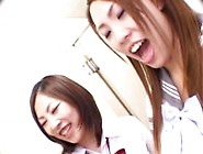 Asian Schoolgirl Pissing Domination (3)