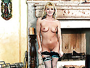 Slutty And Filthy Blonde Niki Young Shows Her Wet Pussy