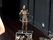 Naked Girl Hula Hoop Cmnf