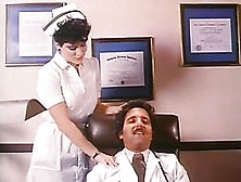 Retro Porn Legend Ron Jeremy Eats And Fingers A Horny Nurse's Ha