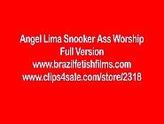 Angel Lima Snooker Ass Worship