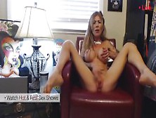 Perfect Body Big Tits Milf Home Alone Dreaming Of Cock.  Hot Webc