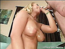 Busty Blonde Cougar With A Wonderful Ass Victoria Vonn Gets Fuck