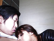 Newhalf Tgirl Doggystyled After Cocksucking