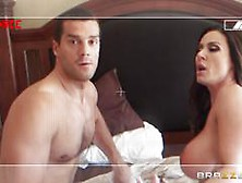 Cheating Wife Kendra Lust Is Made To Fuck Her Man On Camera