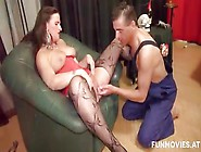 Dirty German Wife Cheating On Her Husband With The Sex Repairman