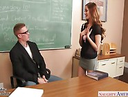 Sexy Girl Seduces Her Teacher For A Better Grade