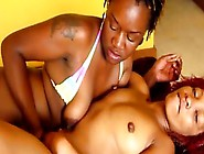 Kinky Black Whores Savagely Fuck Each Others Sloppy Holes