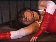 Japanese Superheroine Caught In Underground Wrestling Tournament