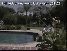 Jessica Drake Blonde Milf Poolside Fucking