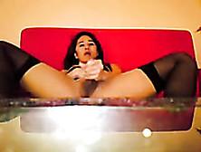 Incredibly Perverted Tranny Masturbates For Me On Webcam