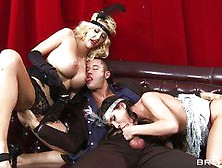 Double Blowjob By The Lustiest Aleksa Nicole And Courtney Taylor