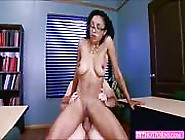 Mature Ebony Slut Enjoys Sucking And Fucking With Her Office Col
