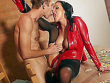 Striking Chantelle Fox Goes Really Hardcore With Danny D