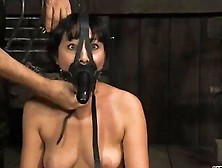 Facial And Twat Torture For Hottie