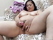 Beautiful Big Boobs,  Belly & Booty Brunette Bbw