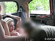 Busty Girl Is Getting Banged In The Car Because Her Soaking Wet