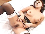 Hot Milf In Black Stockings Sucks Balls And Has Her Pussy Pounde