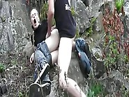 Outdoor Fuck With Fun Little Blonde